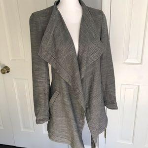 Light wool cardigan